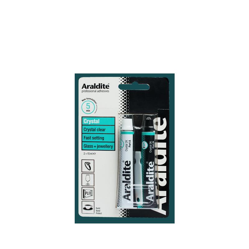 DIY Adhesives : ARALDITE CRYSTAL
