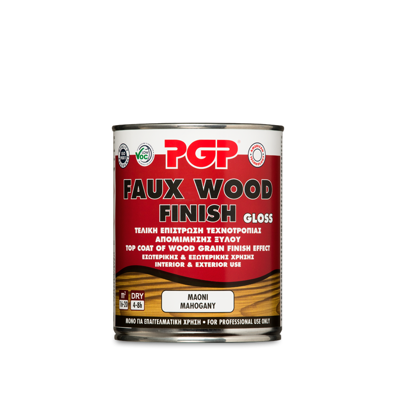 Decorative Materials Pgp Faux Wood Finish